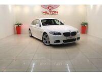 BMW 5 Series 2.0 520d M Sport 4dr (white) 2010
