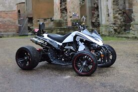 NEW 2016 250CC WHITE ROAD LEGAL QUAD BIKE ASSEMBLED IN UK 66 PLATE OUT NOW!! FREE NEXT DAY DELIVERY