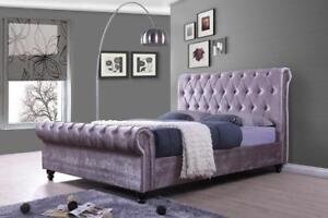 CONTEMPORARY BED ON SALE (IF111)