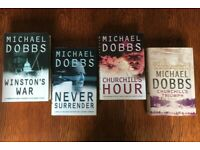 THE CHURCHILL SERIES by Michael Dobbs