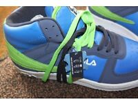 Fila High Top Trainers size 8