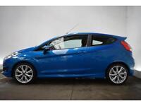 FORD FIESTA 1.6 ZETEC S TDCI 3d 94 BHP (blue) 2014