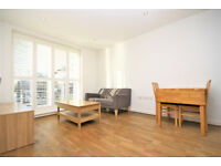 Spacious one bed apartment with private patio, located in the popular Silkworks development Lewisham