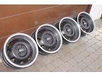 """15"""" ATS CUPS alloys 4x100 VW Golf polo caddy corrado jetta bmw e30 mazda mx5 corsa astra civic punto"""