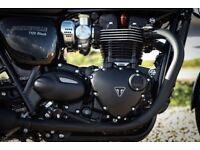 Boneville 1200cc T120 black