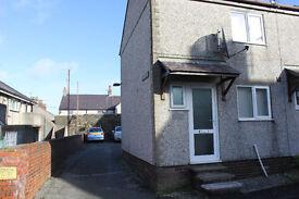 TO RENT IN BANGOR:- £550 pcm, 2 bed end terrace house, Hirael, Bangor, Gwynedd