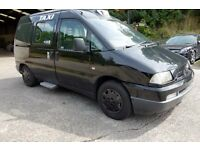 2000 Fiat Scudo EL Taxi *** lightly damaged ***