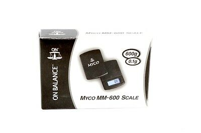 600grams x 0.1g Myco Electronic Digital Jewelry Gold Mini Pocket Weighing Scales