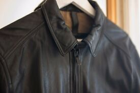 Massimo Dutti Nappa Leather Jacket