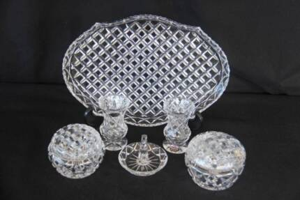 Crystal dressing table set | Collectables | Gumtree Australia ...