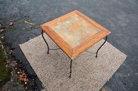 Unique chessboard coffee table
