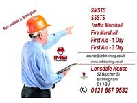 SMSTS/SSSTS/Traffic Marshall/Fire Marshall/First AID