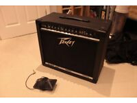 Peavey Bandit 112 transtube. Complete with foot pedal. Repairs needed