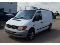 LEFT HAND DRIVE MERCEDES BENZ VITO,DRIVES WELL,GOOD LOAD SPACE,ENGINE & MECHANICS,PAPER SORTED.CALL