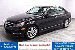 2014 Mercedes-Benz C-Class 4MATIC LEATHER! SUNROOF! HEATED SEATS