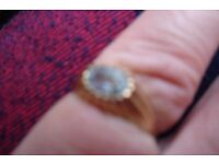 9ct Gold Topaz Ring