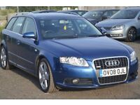 2008 AUDI A4 1.9 TDI S LINE AVANT ESTATE - 2 KEEPERS RNSE SAT NAV SCREEN