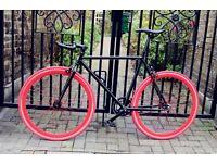 GOKU CYCLES !! Steel Frame Single speed road bike track bike fixed gear racing fixie bicycle dqm