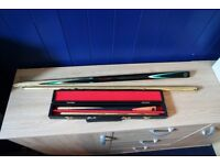 Snooker Cues - Adult and Childs