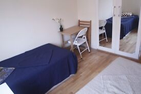 THE CHEAPER TWIN ROOM IN ST JOHNS WOOD//27P
