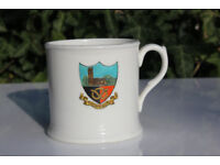 Vintage Antique Thornbury Gloucestershire Crested China Cup