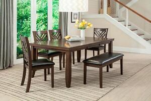 HUGE WAREHOUSE SALE !!!!DINING  TABLE SET $399 & UP WE DO HAVE BEDROOM SETS, BUNK BEDS, RECLINERS, SOFAS AND MORE