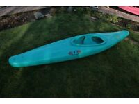RTM kayak + spaydeck and paddle