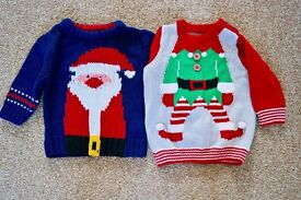 Baby Christmas Jumpers set NEXT 3-6 month
