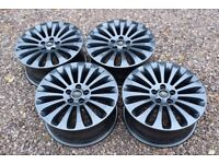 "Genuine 17"" Ford Mondeo Mk4 Ghia Titanium X Alloy Wheels Refinished in Gloss Grey Focus"