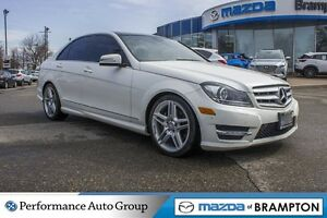 2012 Mercedes-Benz C-Class C300 4MATIC|LEATHER|SUNROOF|REAR CAM|