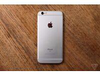 iphone 6 silver 64 Gb unlock very good condition