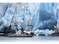 SAIL the GLACIERS & FJORDS of PATAGONIA with AUSSIE, TONY MOWBRAY on his 60ft YACHT