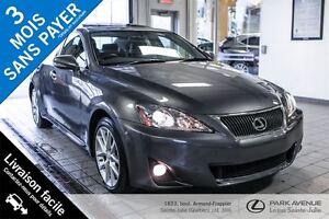 2012 Lexus IS 250 **Seulement 40 000KM!!!**