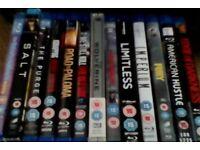 Samsung blu Ray and 11 films