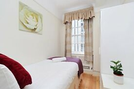 *** PRICE REDUCTION **** MODERN SINGLE ROOM IN MARBLE ARCH *** PORTERED BLOCK WITH LIFT **
