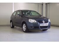 2009 VOLKSWAGEN POLO 1.2 MATCH 70 3DR Full VW History