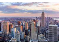 London to New York returns - 4 x Discounted Tickets available