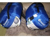 two Outwell Comfort 1700 sleeping bags