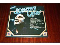 Johnny Cash Self Titled 1974 Vinyl LP Record
