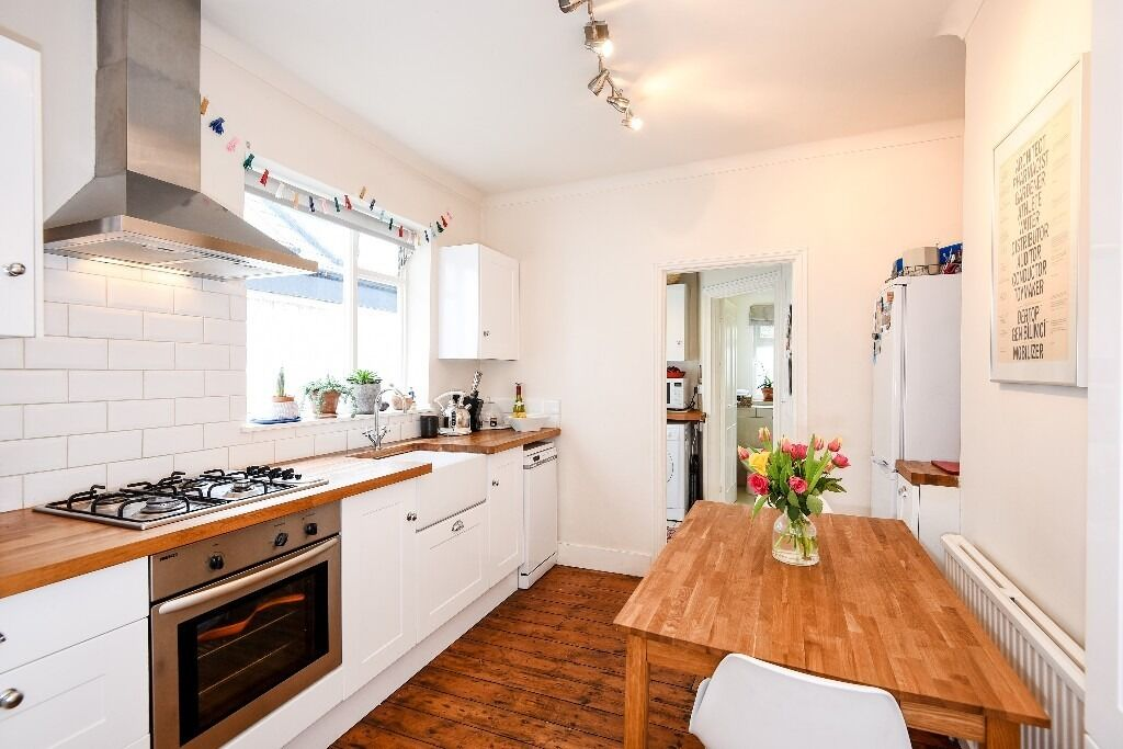 Offered unfurnished, a charming one bedroom garden flat that is located in Firth Gardens, SW6