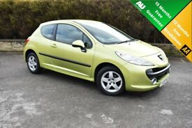 2007 Peugeot 207 1.4 16v Sport 3dr *** PERFECT MOTOR FOR A NEW DRIVER *** Comes with 15m warranty