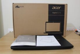 Acer Laptop (Aspire ES-15) 8 moths manufacturer Warranty- (2017 Model) in Immaculate condition
