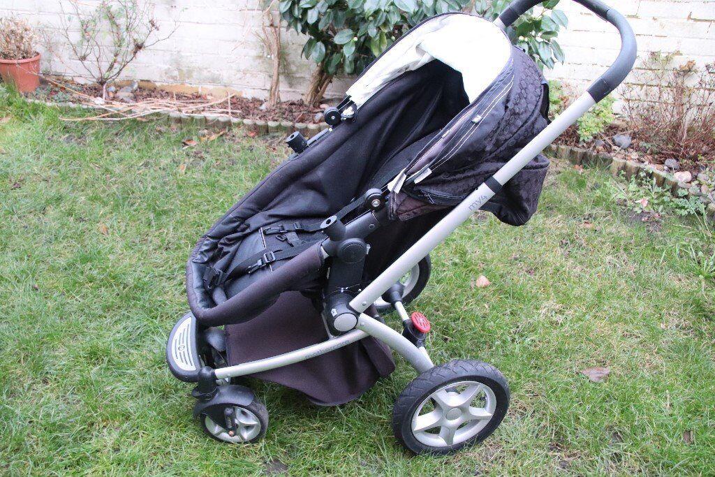 mothercare my4 pram, pushchair ( travel system) stroller ...