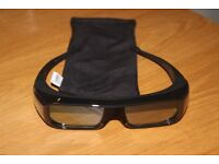 Sony 3D TV viewing glasses
