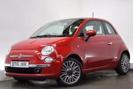 FIAT 500 1.2 LOUNGE 3d 69 BHP (red) 2015