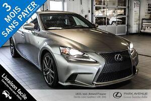 2014 Lexus IS 350 * F SPORT* NOUVEL ARRIVAGE*