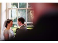 Documentary wedding photographer available for 2017/18 weddings
