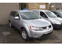MITSUBISHI OUTLANDER LIGHT 4X4 UTILITY – 08-REG