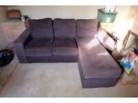 3 seater sofa - can be disassembled easily
