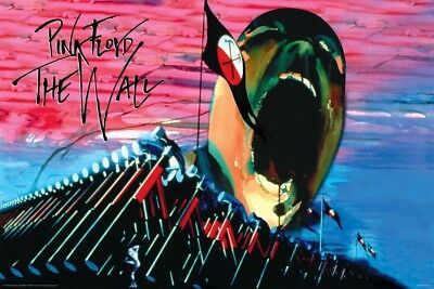 Pink Floyd The Wall Hammers & Face Music Poster -